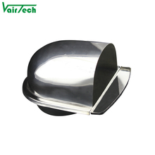 stainless steel 201 304 wall fresh air vent roof vent pipe cover