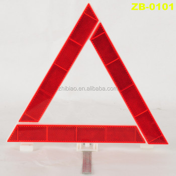 Car Folding Emergency Caution and Warning Triangle Sign