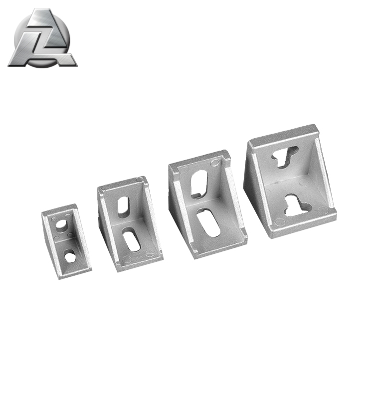 1515 2020 3030 4040 industrial t slot hardware 90 degree angle bracket