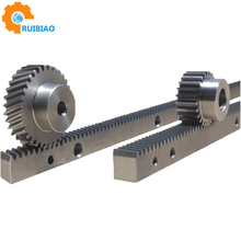 Steel Material pinion gear and rack,Hobbing cnc Rack Pinion