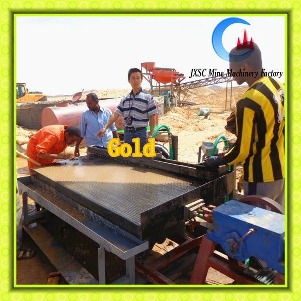 Small sacre gold mining machine for placer gold panning