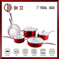 tempered glass cooking pot