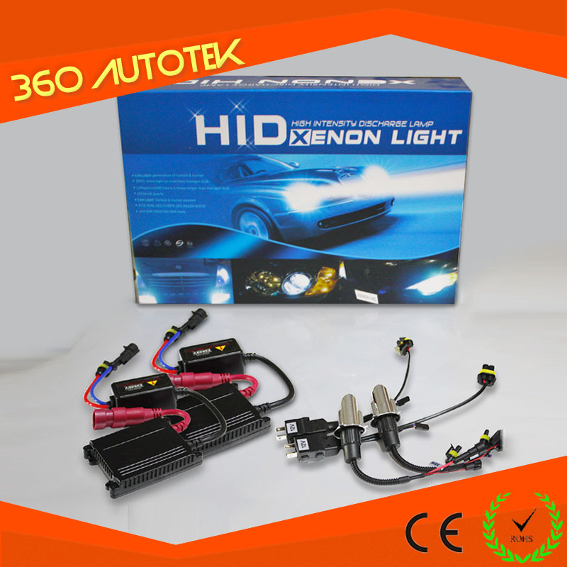 Factory price made in china fast bright Canbus H4 25 watt hid xenon kit