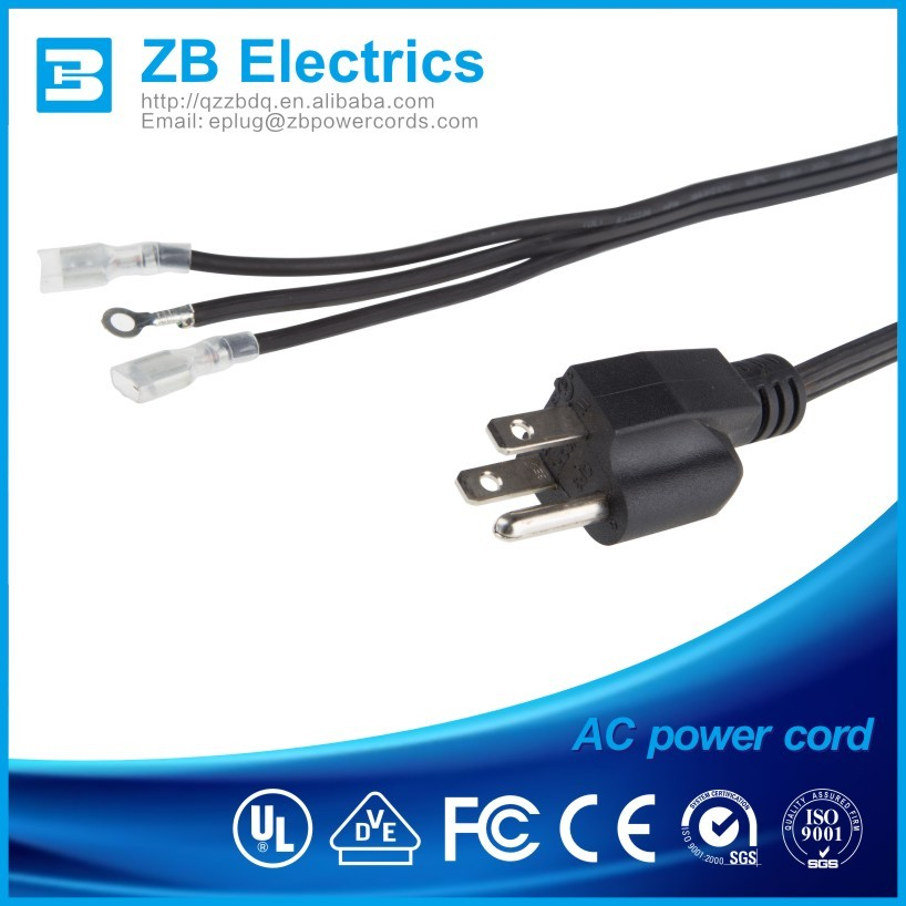 UL listed extension Power cord