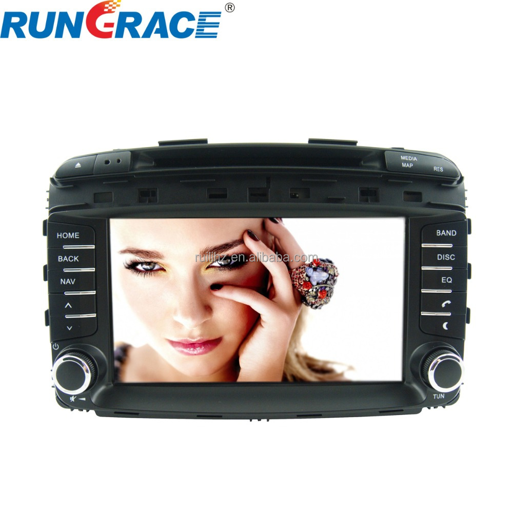 Wholesale In-dash GPS navigator google map wince 8 inch Sorento cd player for car
