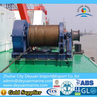 20KN Marine Electric Anchor Windlass/Mooring winch with single drum