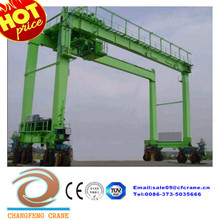 Heavy duty, Popular rubber tyre container handling gantry cranes for sale