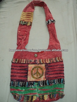 patchwork fashion bags peace sign new-01