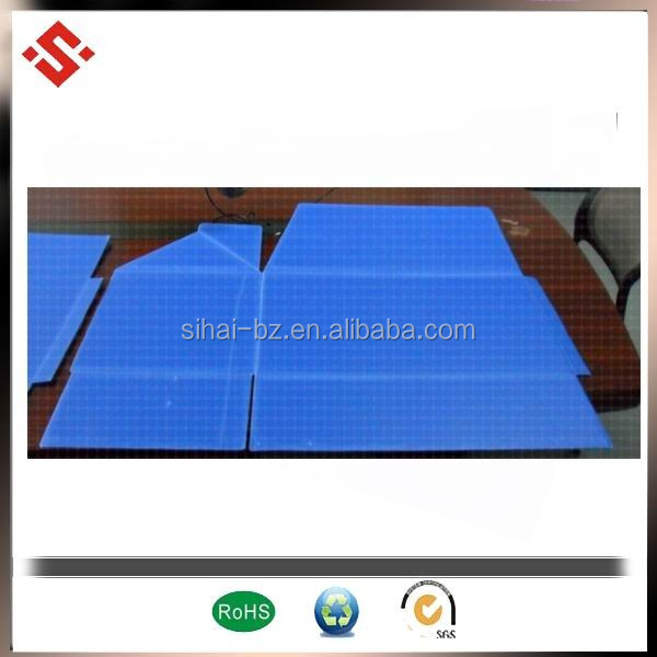 China supplier made pp new raw material foldable coroplast turnover carton box