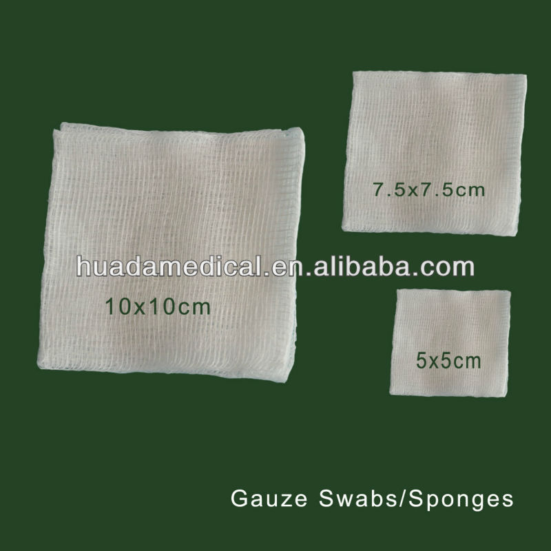 sterile wound care medical disposable clean gauze swap