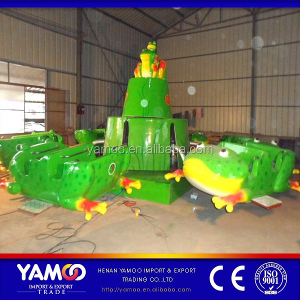 china kids amusement park rides frog jumping/bounce frog rides for sale YM-JP-001