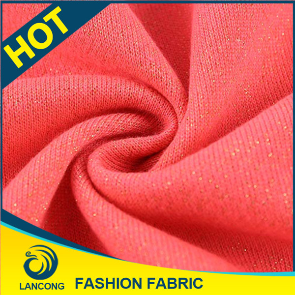 Professional knit fabric manufacturer Latest Style High Quality cvc sherpa terry fabric