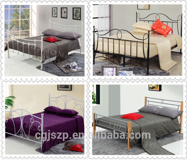 Compact Square fabric Bed european style platform beds to sale
