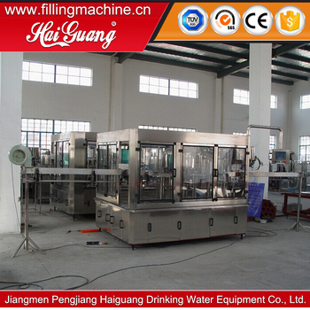 Factory price newest zhangjiagang water filling machine/bottle spring water making plant