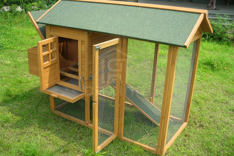 DXH021China supplier large size waterproof chicken coop 4 chickens