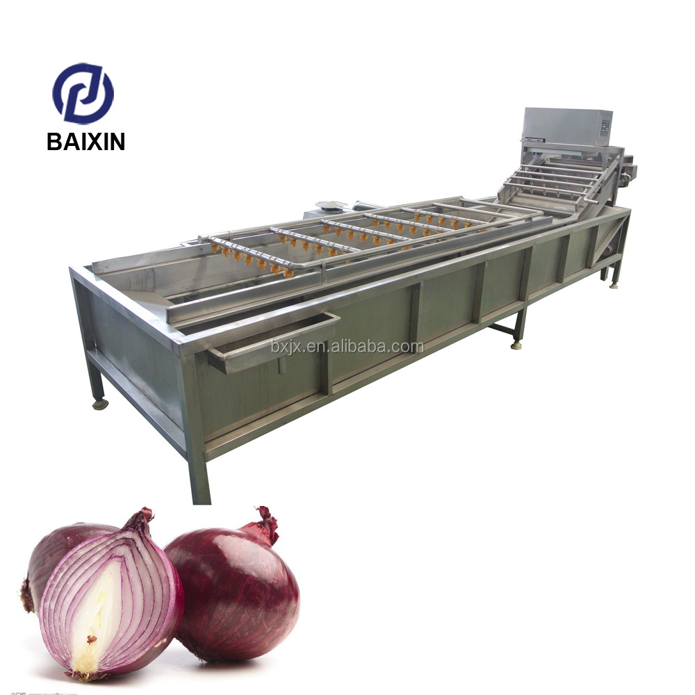 Stainless steel ozone fruit and vegetable washer lavadoras de frutas industrial ozono