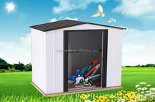 High Quality Waterproof Metal Garden Storage Shed House