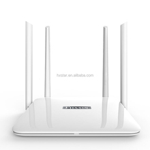 Hot Selling 2.4GHz 300Mbps & 5GHZ 867 Mbps dual band Gigabit Wireless WiFi Router, English systerm with 4 Antennas app control
