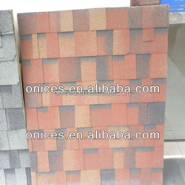 Architectural classic red Laminated roof tiles