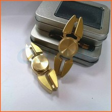 2017 Relieve Stress CNC brass Finger gyro spinning top