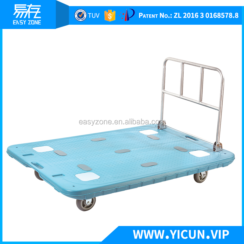 600 kgs heavy duty push cart beach trolley cart