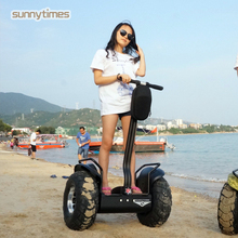 long range electric top quality off road scooter electric human transporter 2 wheel hands free scooter