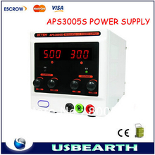 ATTEN APS3005S - 30V, 5A Variable DC Regulated Power Supply (Single Output)90w