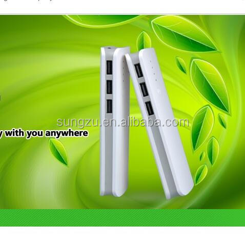 11000mah white laptop power bank for laptop at factory cheap price