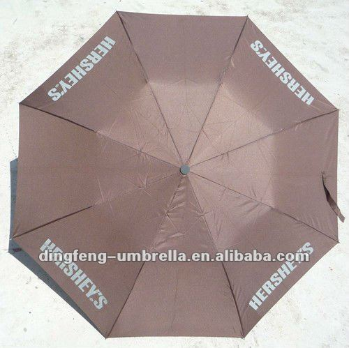 2 folds nylon parasol umbrella wind protection folding umbrella auto open