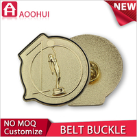 Hot die casting sport medallion santa belt buckles