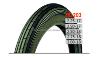 motorcycle tires irc 2.25-17 tire and tube for pakistan market
