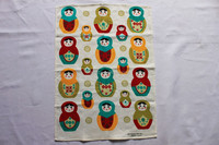 good quality custom print cotton linen kitchen tea towels in usa market
