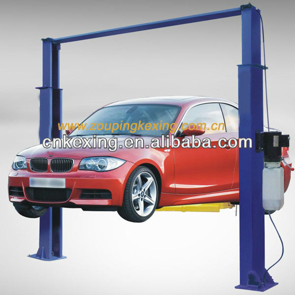 New King spray booth Car Lift