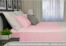 Modern design polyester bed sheet , microfiber bedding set