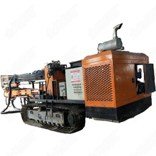 YGL-100A/C Mining and quarry equipment diesel engine crawler drilling rig machine