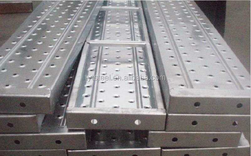 Security Steel Scaffold Planks : Galvanized steel scaffold plank hanging scaffolds