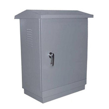 Waterproof Metal Enclosures IP65 IP66 Customized Wall Mounted Metal Electrical Network Cabinet / Box