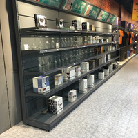 wall supermarket shelf&rack unit