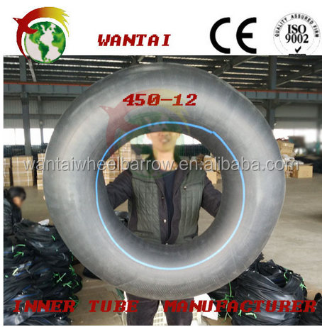 china factory supplier of cheap motorcycle butyl inner tube 4.50-12