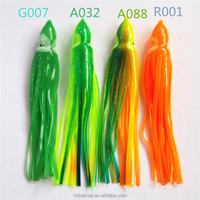Hot Sale! 14cm 7.5g Octopus Skirt Lures Fishing Baits Squid Soft Plastic Fishing Lures