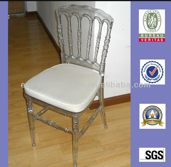 China Wholesale Clear Restaurant Chair Resin Napoleon