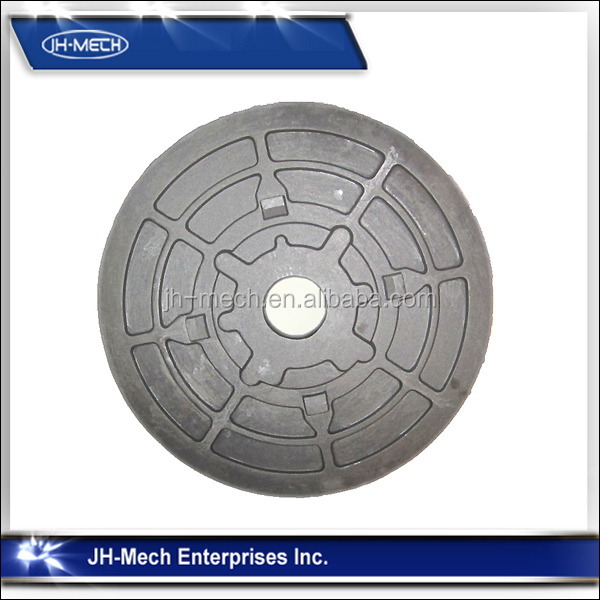 ISO 9001 Foundry Fine Surface Large Cast Iron Casting