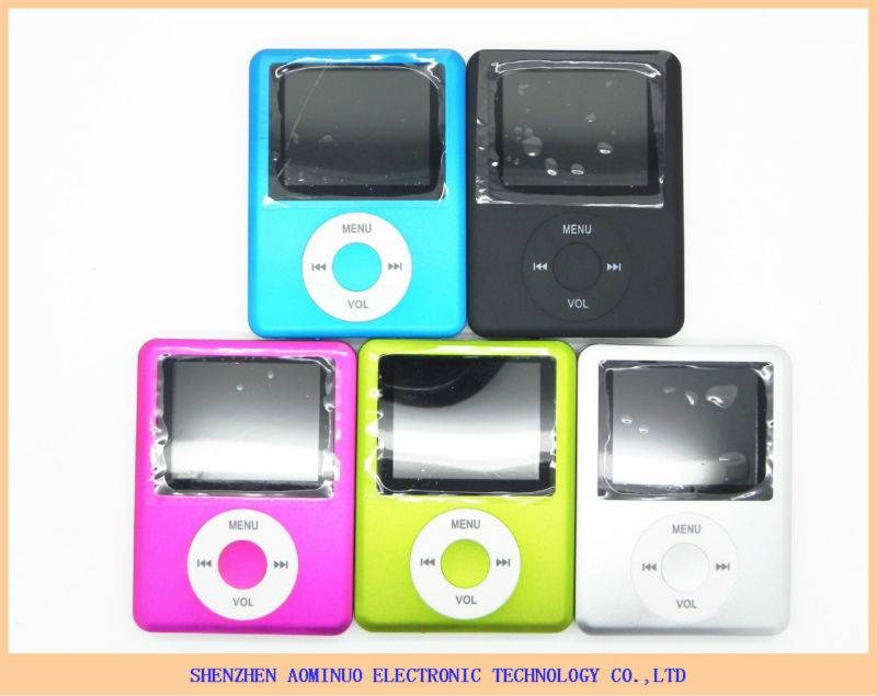 "Slim 3th Mp3 Mp4 Player 1.8""LCD Screen FM Radio Video Games & Movie"