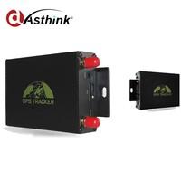 dual sim card gps tracking device, GPS105 vehicle tracker with RFID/app tracking