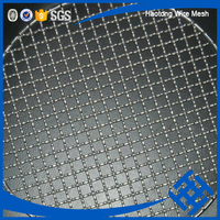 professional stainless Barbecue crimped wire mesh