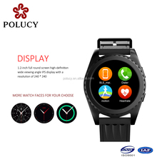 2017 led wifi mobile phone sim android hand smart watch