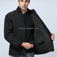 Mens Winter Heated Softshell Jacket / Rechargeable Battery Heated Softshell jacket-10 years alibaba