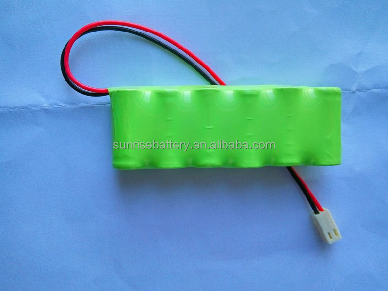 Economical 6v 300mah rechargeable nimh battery pack 2/3aaa for solar light