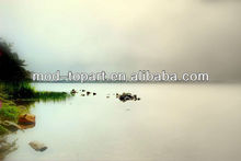 2013 new picture printing on canvas over frame- theme of seascape