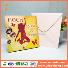 Greetings Great Job Thank You Greeting Card with Foil
